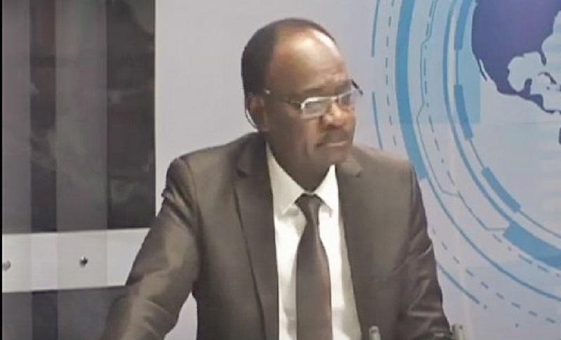 Le directeur général de la Loterie nationale du Bénin (LNB), Gaston Zossou,