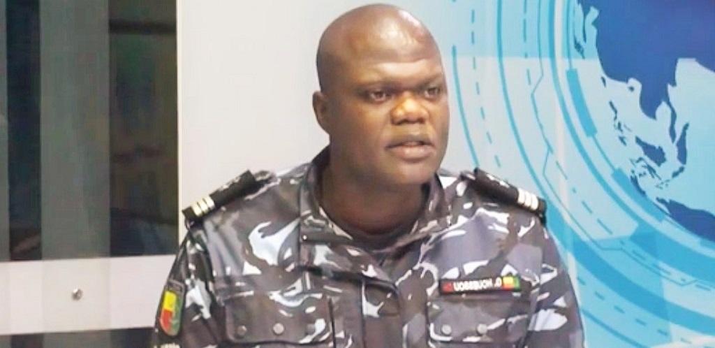 capitaine de police, Géorgino Houéssou, chef département prévention