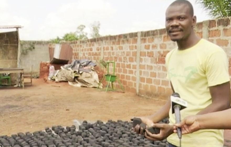 Roland Adjovi, jeune béninois et déjà entrepreneur