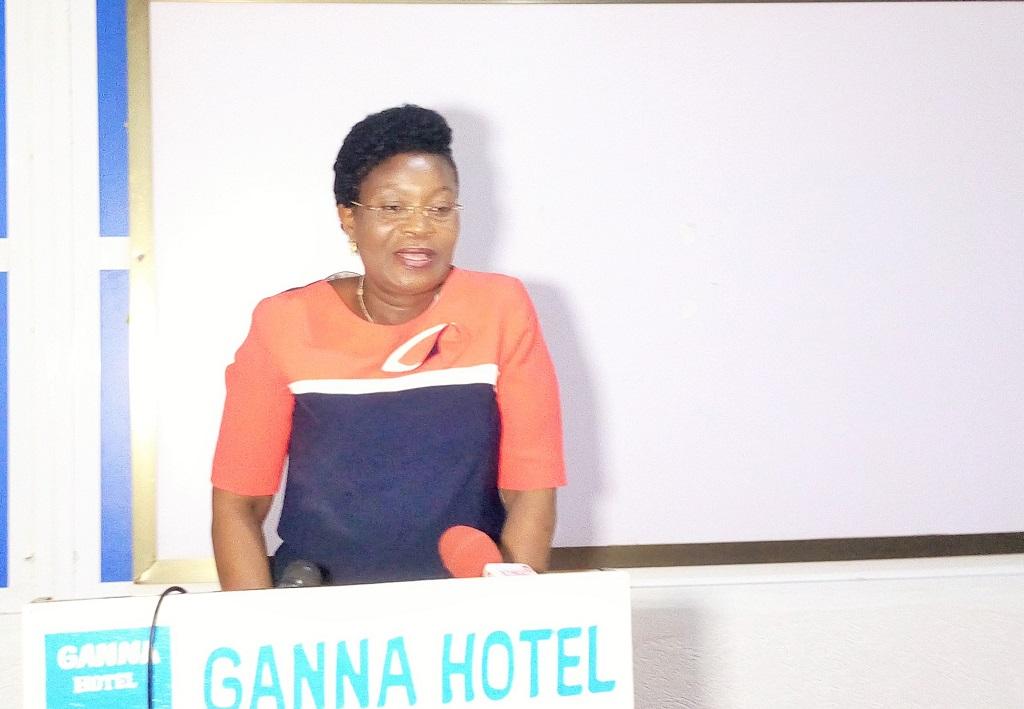coordinatrice générale adjointe de l'UIGP, Jeanne Adanbiokou Akakpo