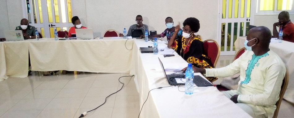 un atelier d'information sur le projet d'investissement, de résilience des zones côtières en Afrique de l'Ouest